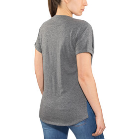 Fox Responded Rl V-Neck SS Shirt Women heather graphite